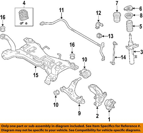 small resolution of details about volvo oem 06 13 c70 front suspension strut 31277596
