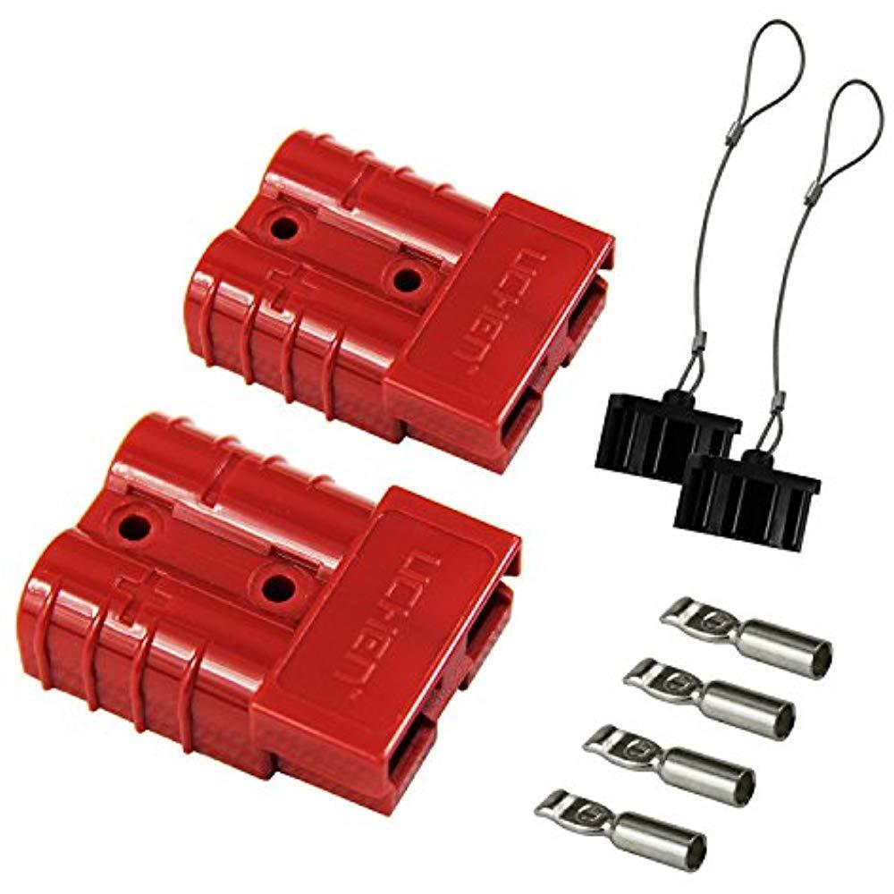 hight resolution of details about hyclat 6 10 gauge battery quick connect disconnect wire harness plug connector