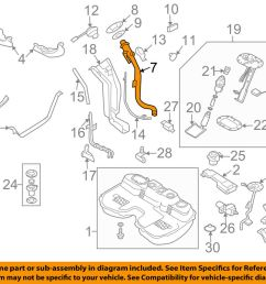 details about subaru oem 05 08 forester 2 5l h4 fuel tank filler neck tube pipe 42066sa090 [ 1000 x 798 Pixel ]