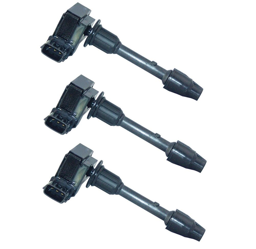 medium resolution of details about set of 3 hitachi radiator side ignition coils for infiniti nissan maxima v6 3 0l