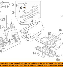 details about audi oem 05 09 a8 quattro engine parts filler tube seal n90460801 [ 1000 x 798 Pixel ]