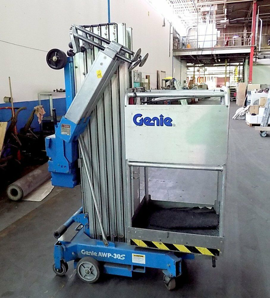 medium resolution of details about used genie awp 30s super series aerial lift