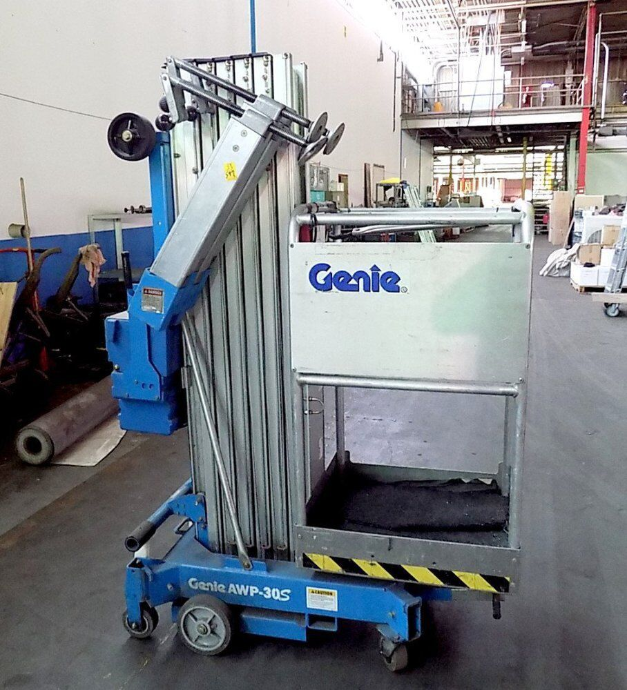 hight resolution of details about used genie awp 30s super series aerial lift