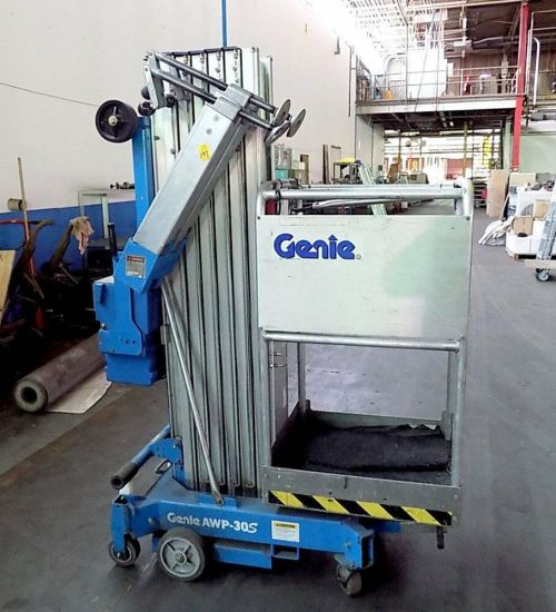 small resolution of details about used genie awp 30s super series aerial lift
