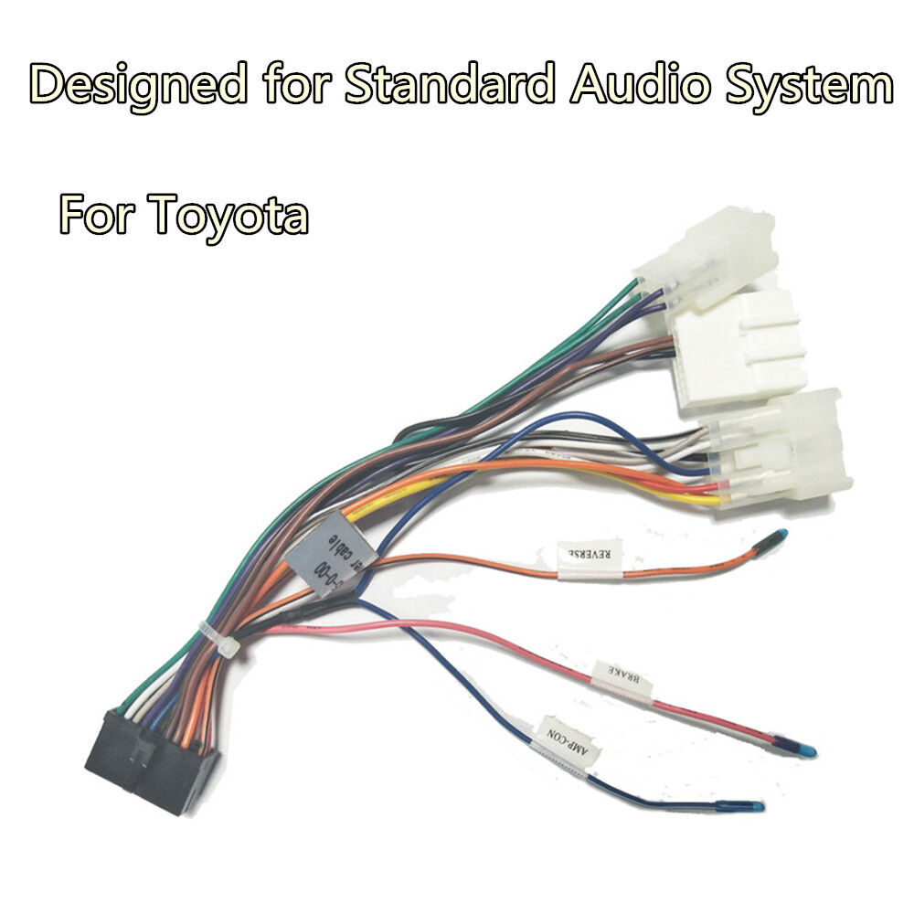 medium resolution of for toyota android dvd gps multimedia 20 pin wiring harness