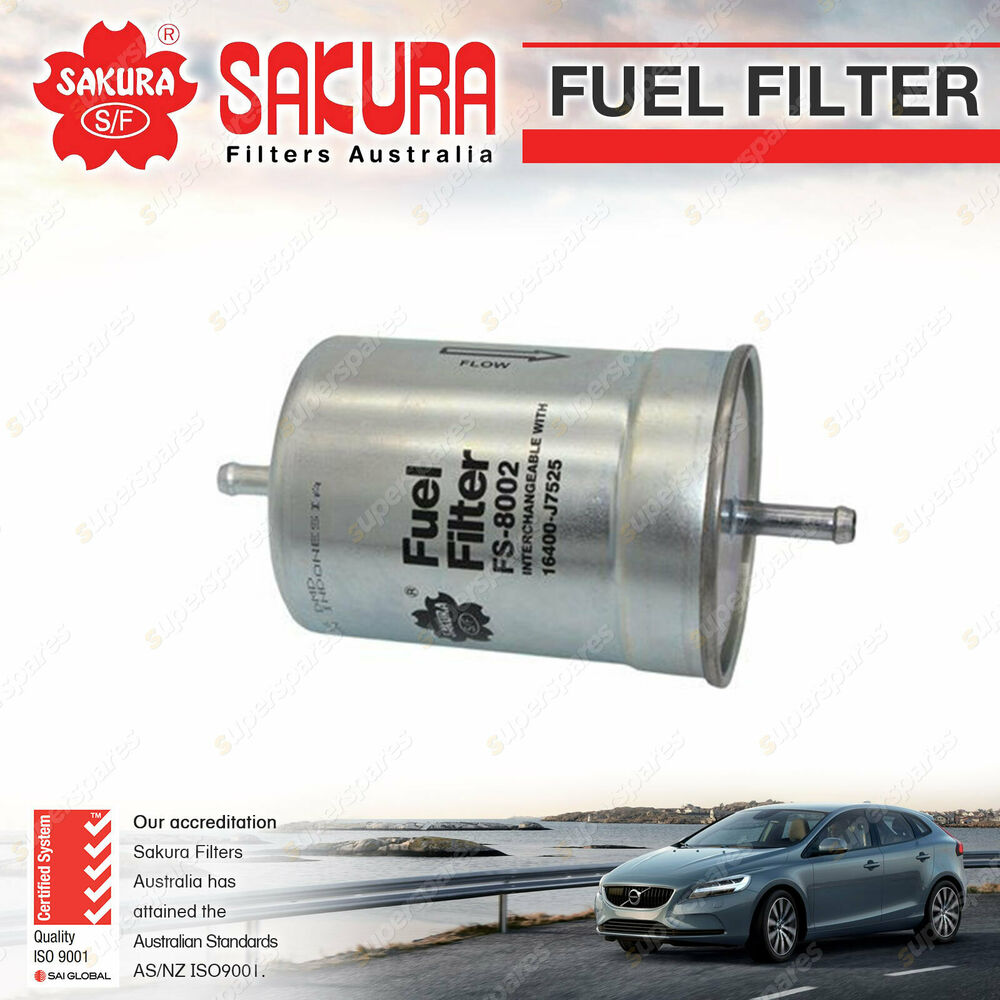 hight resolution of details about sakura fuel filter for jaguar xj series 1 2 3 xj6 xj12 xj81 xj40 xjs petrol