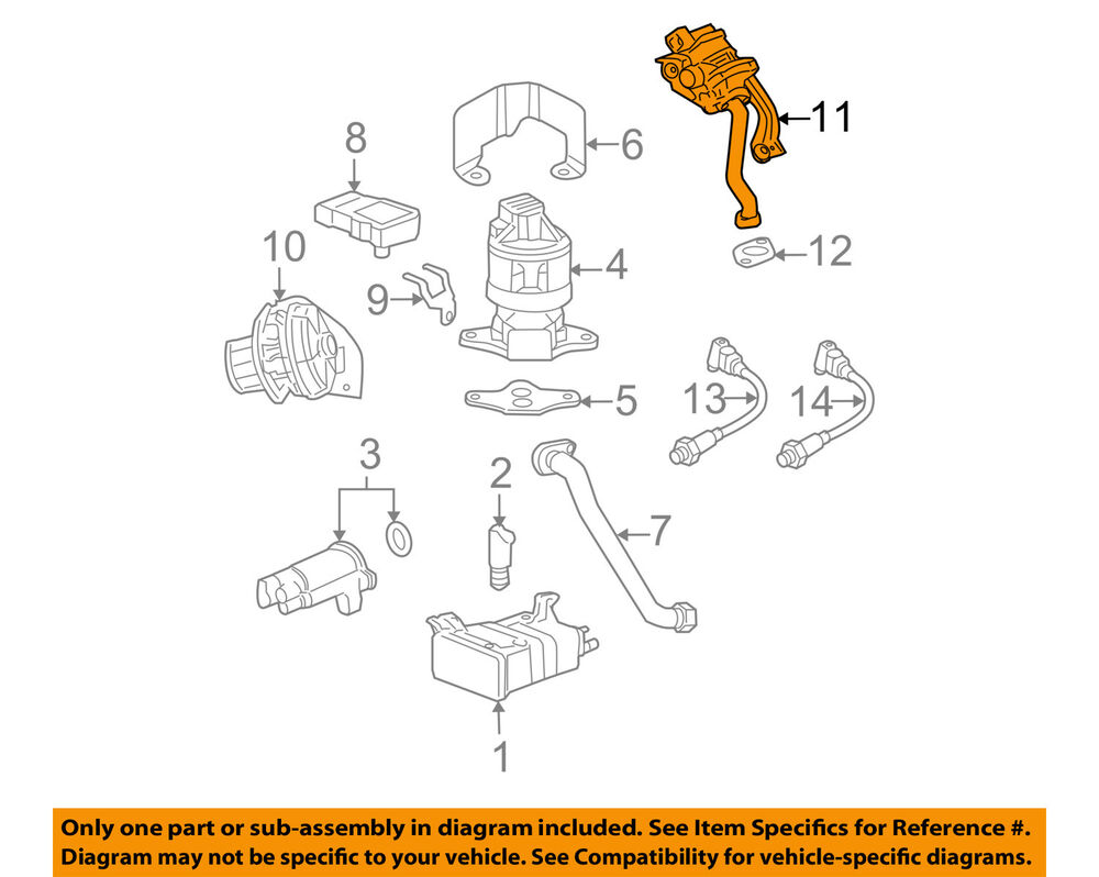 hight resolution of details about gm oem secondary air injection system check valve 12619111