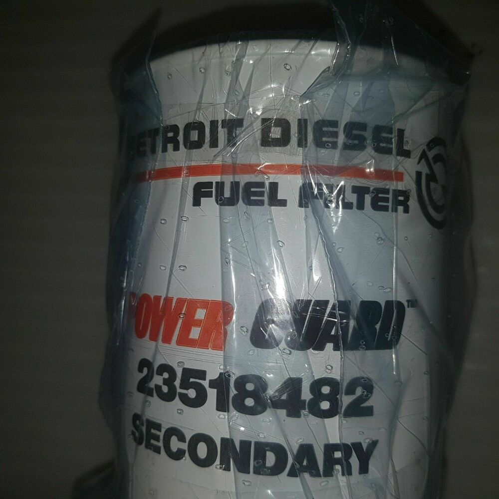 hight resolution of details about detroit diesel power guard 23518482 secondary fuel filter