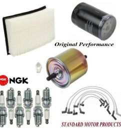 details about tune up kit air oil fuel filters wire spark plugs for ford taurus v6 3 0l 02 07 [ 995 x 1000 Pixel ]