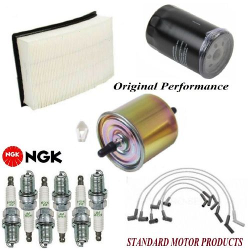 small resolution of details about tune up kit air oil fuel filters wire spark plugs for ford taurus v6 3 0l 02 07