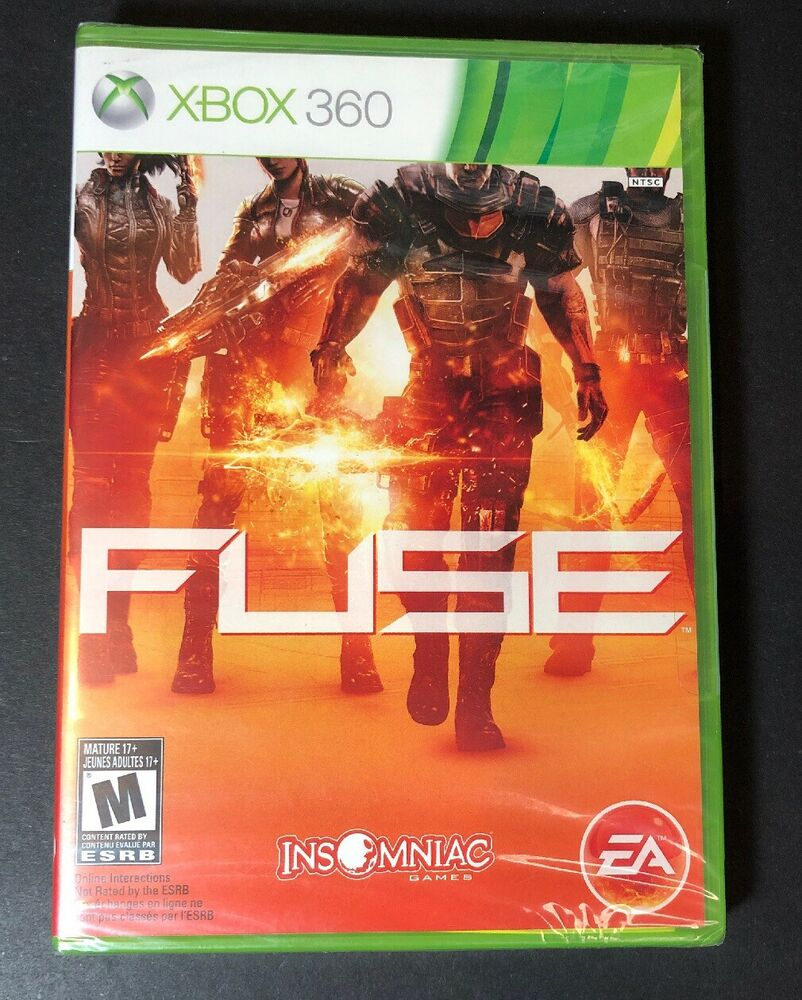 hight resolution of details about fuse xbox 360 new