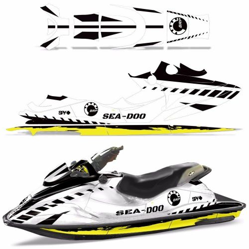 small resolution of details about decal graphic wrap kit jet ski jetski bombardier parts sea doo gsx 1996 1999 wrk