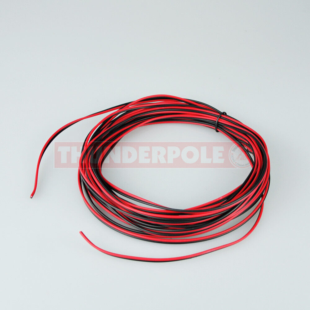 medium resolution of details about red black speaker power cable cb radio stereo audio hifi car wire 2 5a 10m
