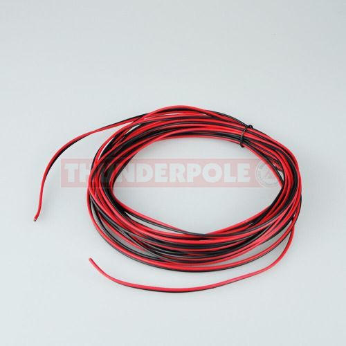 small resolution of details about red black speaker power cable cb radio stereo audio hifi car wire 2 5a 10m