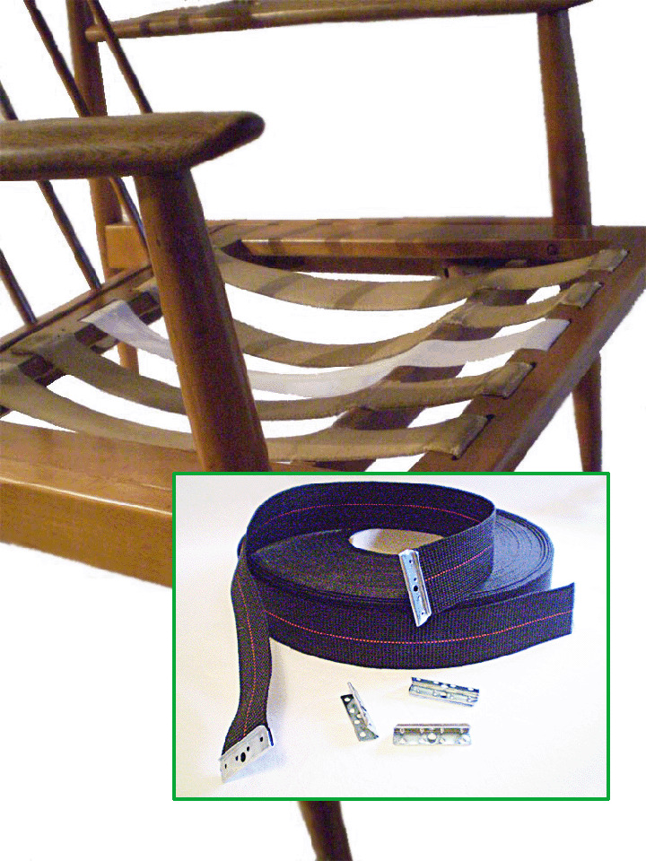 DIY Danish Modern Chair  Furniture Webbing Repair Kit  eBay