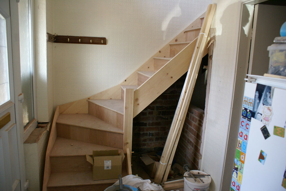 Image Result For How To Build Wooden Stairs