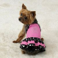 Dog Dress Clothes Clothing Shirt Parisian Pet Sundress