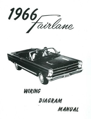 1966 66 FORD FAIRLANE WIRING DIAGRAM MANUAL | eBay