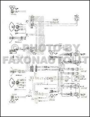 1979 Monte Carlo Malibu and Classic Wiring Diagram 79