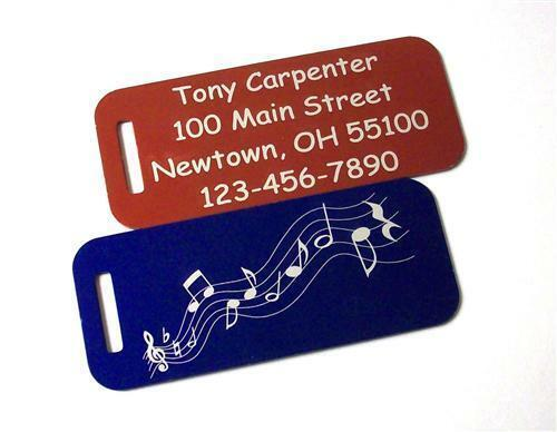 leather luggage tags monogrammed