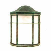 TP Lighting Verde Green Outdoor Wall Lighting Fixture ...