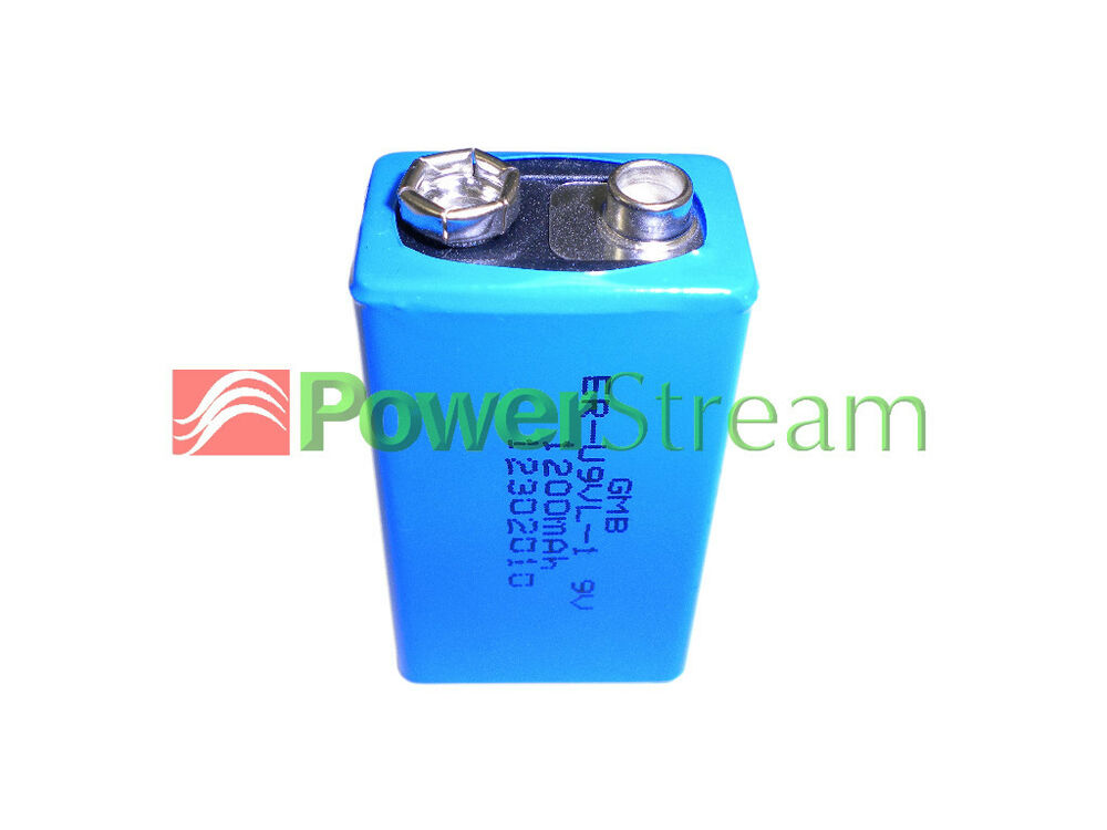 Details About Powerstream Eru9vl 9v Non Rechargeable Battery