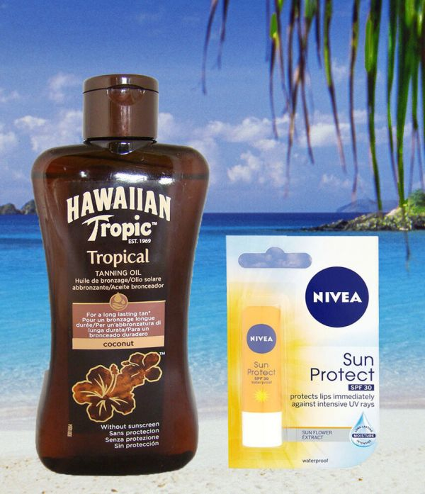 Tanning Lotion Hawaiian Tropic Factor Tan Oil Spf 0