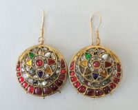 Indian Antique Gold Earrings