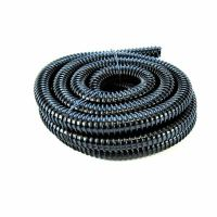 0.75 inch (20mm) BLACK CORRUGATED FLEXIBLE HOSE FISH POND ...