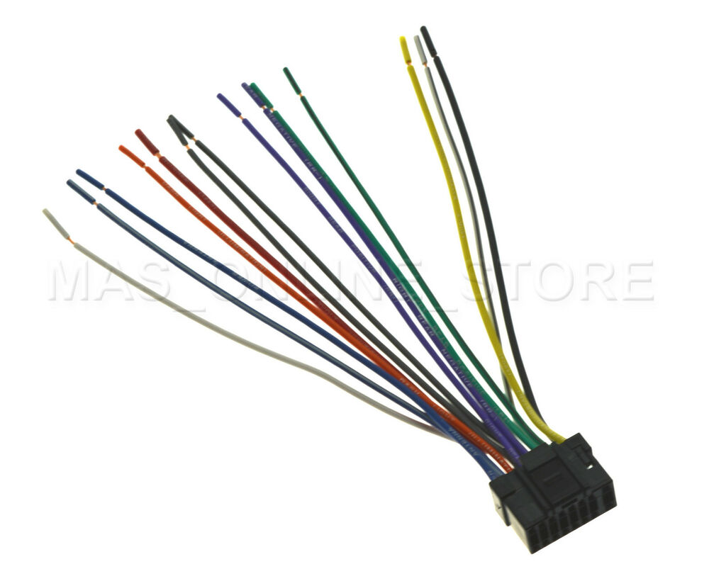 wire harness alpine cde 9881