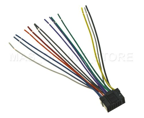 small resolution of wire harness for alpine cde 9852 cde9852 cde 9881 cde9881 ships today