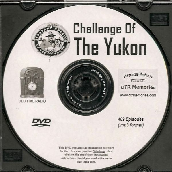 Challenge Of Yukon - 409 Shows Time Radio In Mp3