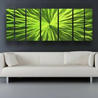 Metal Wall Art Modern Contemporary Abstract Sculpture ...