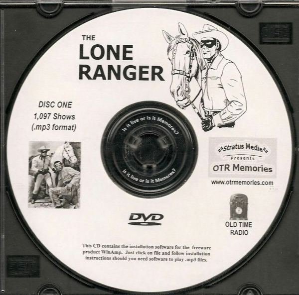 Lone Ranger - 1 097 Shows Time Radio In Mp3 Format