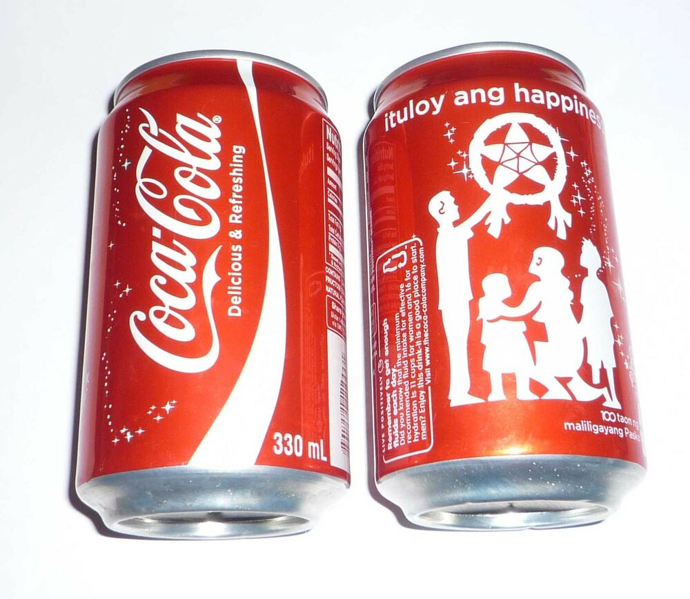 Coca Cola Can PHILIPPINES Collectors Can Christmas 2012