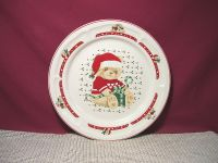 Tienshan China Country Bear Christmas Dinner Plate & More ...