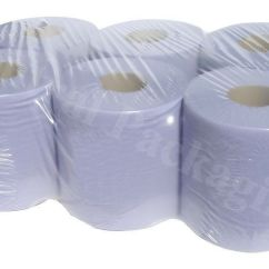 Kitchen Hand Towels Stacked Stone Outdoor Blue Roll 2ply Centrefeed Rolls, Paper ...