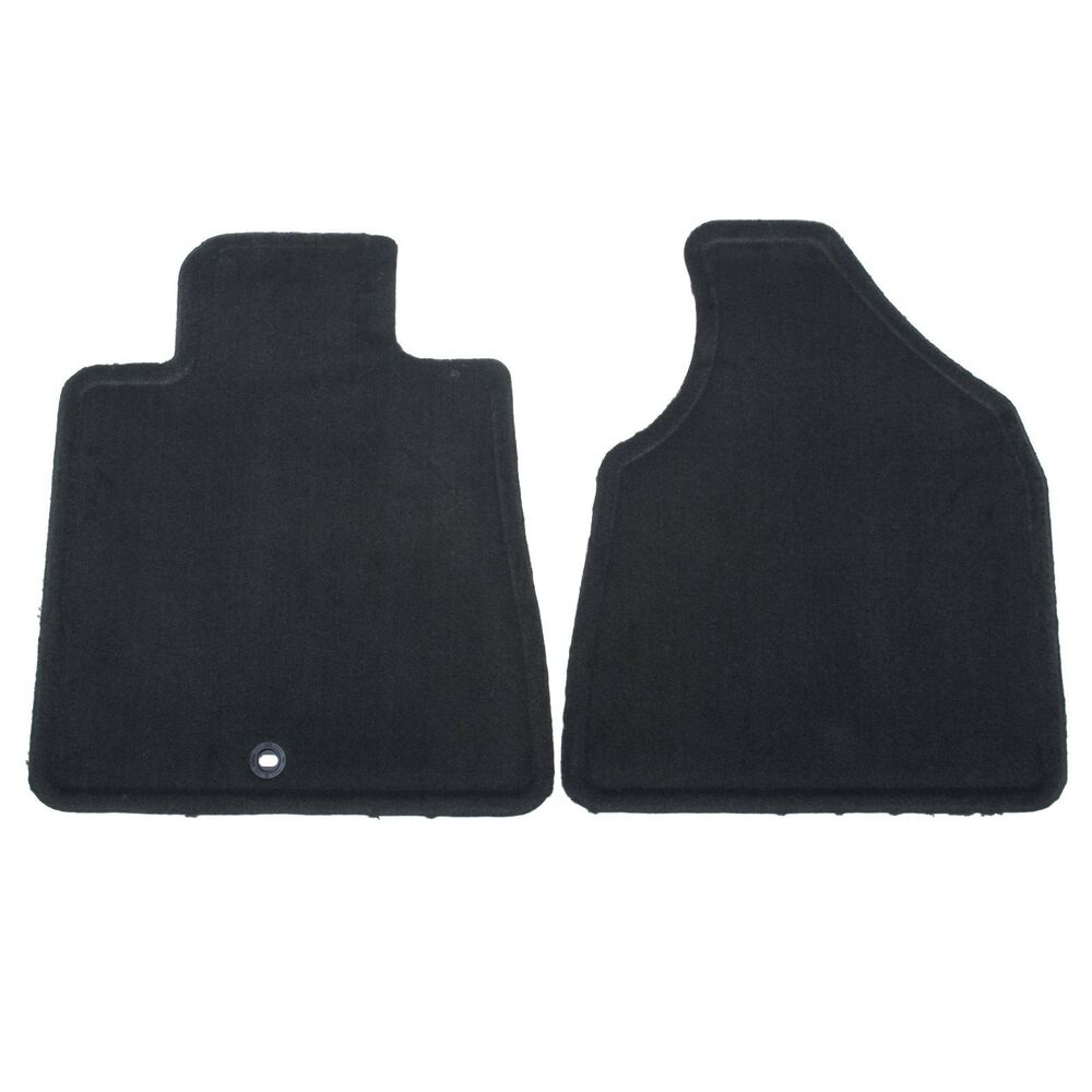 19210636 GM Black Front Carpet Floor Mats 20092017