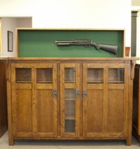 Gun Safety Storage Hidden Gun Cabinet Hunting Custom Made ...