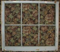 6 pane old wooden window art deco decor shabby picture ...