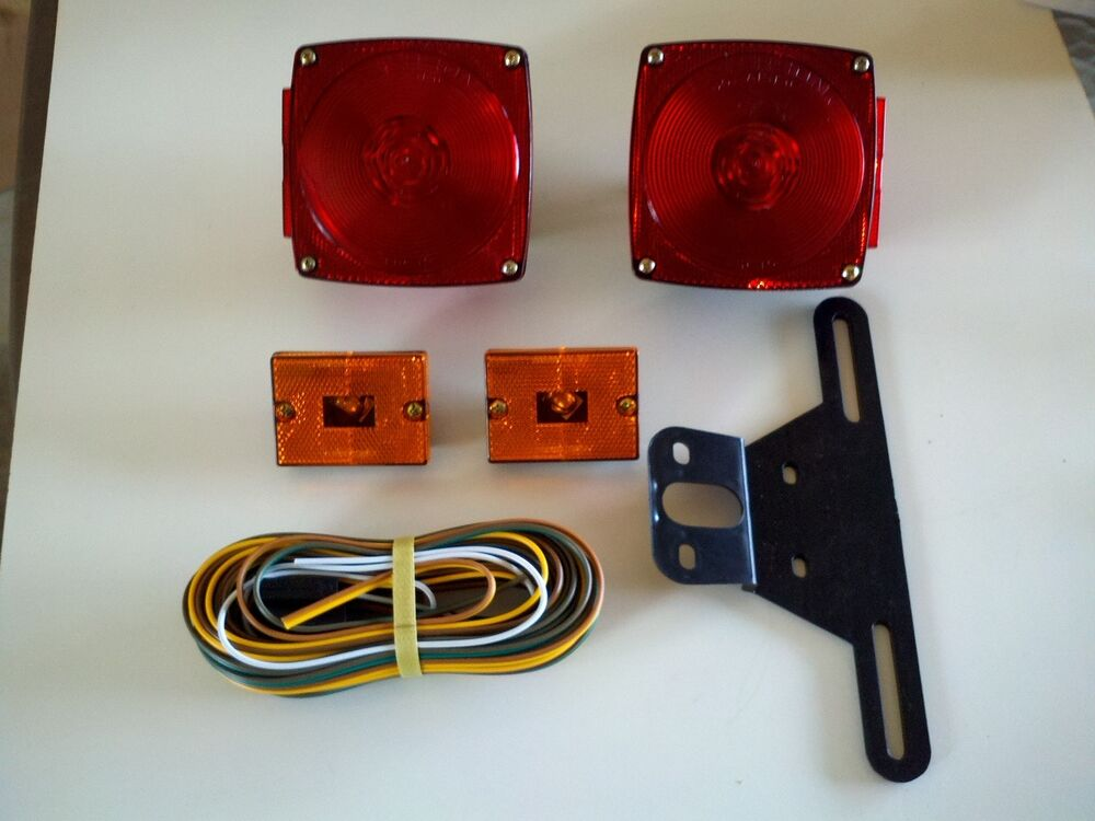 Wire Trailer Tail Light Wiring Diagrams Get Free Image About Wiring