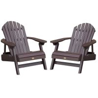 Highwood Adirondack Outdoor Chair Patio Furniture x2 | eBay
