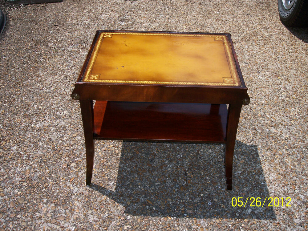 * ANTIQUE STICKLEY OF GRAND RAPIDS END TABLE Mahagony W