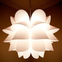 BRAND NEW IKEA KNAPPA Pendant Lamp White Ceiling Soft Mood ...