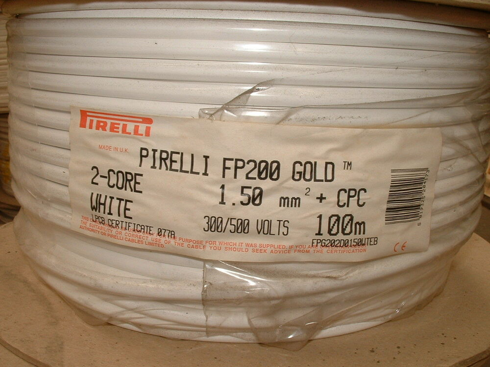 And Earth Cable Old Wiring Colours Red Black Pirelli 6242y Ebay
