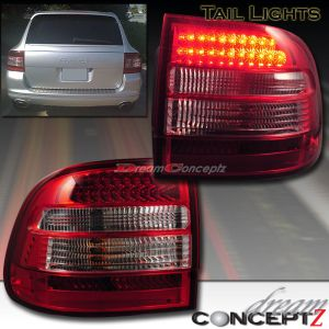 0306 Porsche Cayenne Turbo S LED Tail lights LED Super Bright All Models Red | eBay
