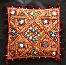 Indian Handicrafts Vintage Traditional Throw Cushion
