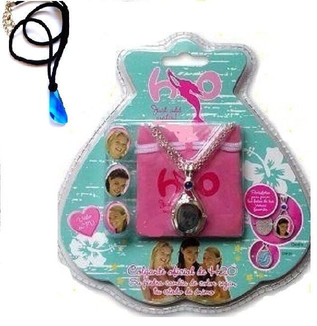 H2O JUST ADD WATER OFFICIAL NECKLACE LOCKET PLUS BLUE PENDANT H20 EBay