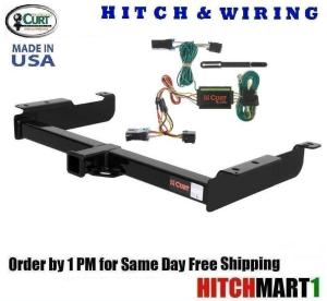 6K Trailer Hitch & Wiring Pkg for 19961999 Chevy Express