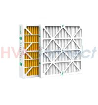 16x25x4 GLASFLOSS HIGH EFFICIENCY MERV 10 PLEATED FURNACE ...